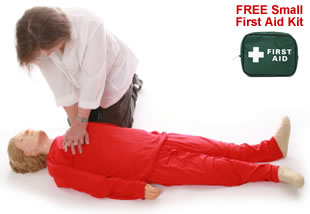 Emergency First Aid Training CPR Demonstration