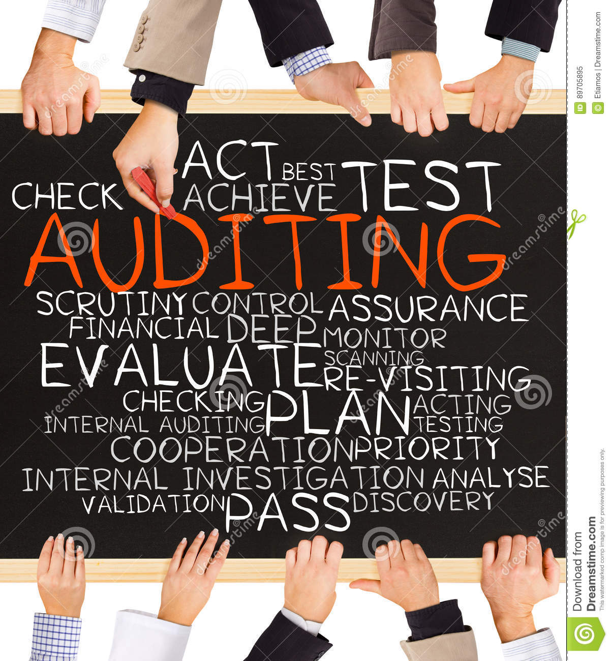 auditing, brc, red, tractor, iso